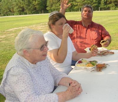 July 4th picnic --  Mr Jones Express Himself